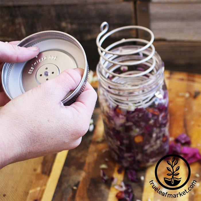Stainless Steel Fermenting Kits in use