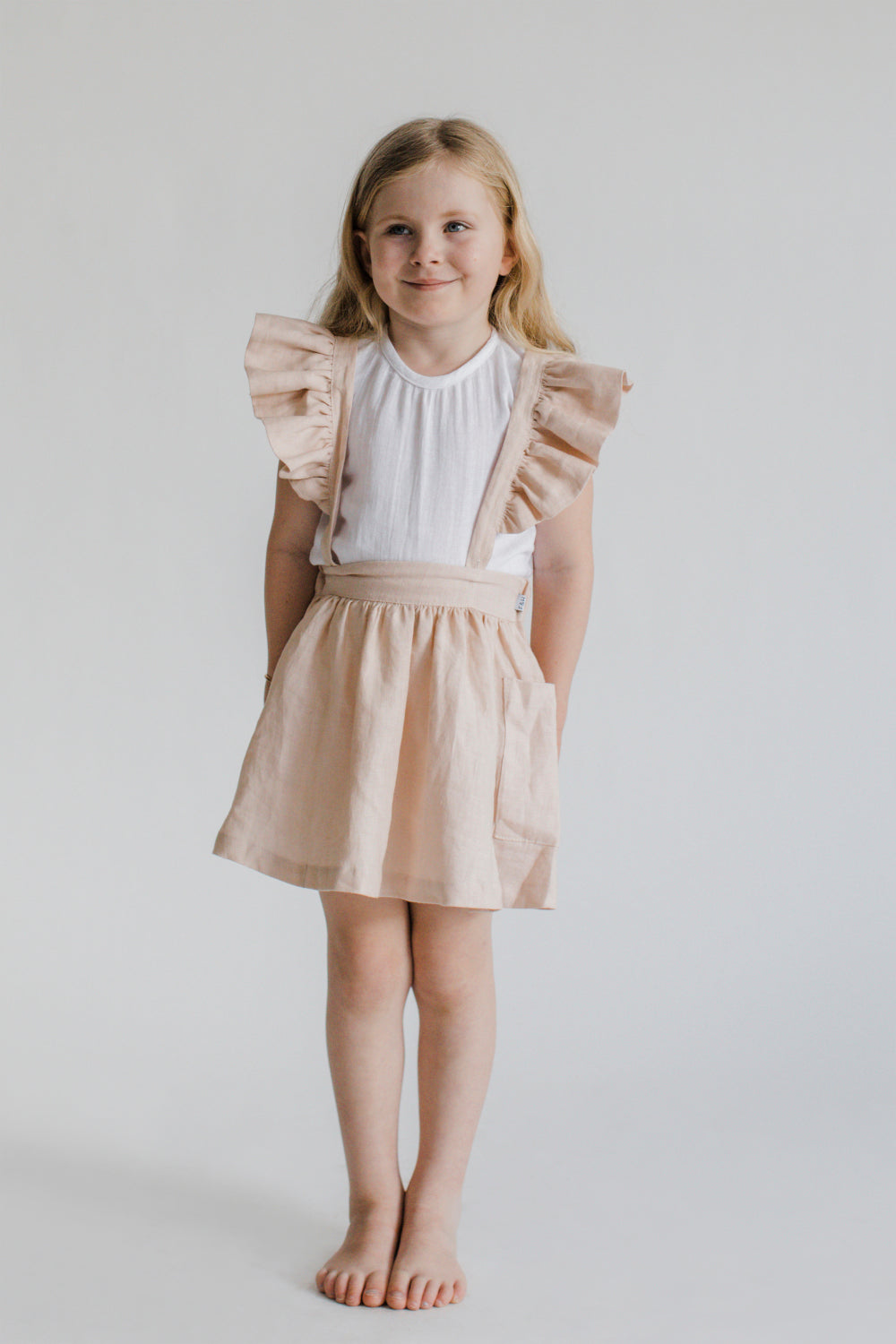 Ruffle Skirt Rose Milk