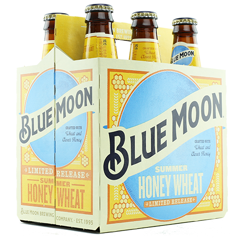 Blue Moon Summer Honey Wheat, 6 Pack Bottle