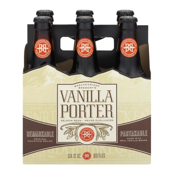 Breckenridge Brewery Vanilla Porter, 6 Pack, 12 oz Bottle
