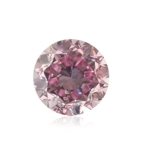 Fancy Intense Purplish Pink/SI2 diamant på 0,42 carat
