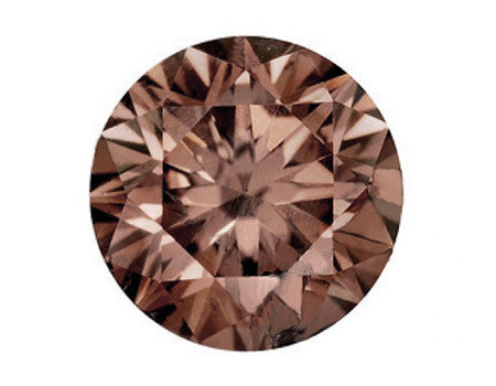 Champagne diamant: 0.50 carat, Honney Brown, VS-SI, EX/VG