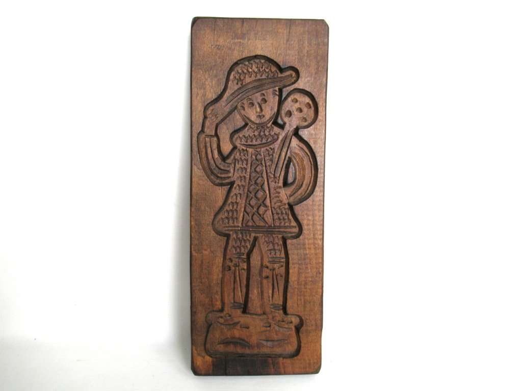 UpperDutch:Cookie Mold,Cookie Mold, Folk art Springerle cookie mold.