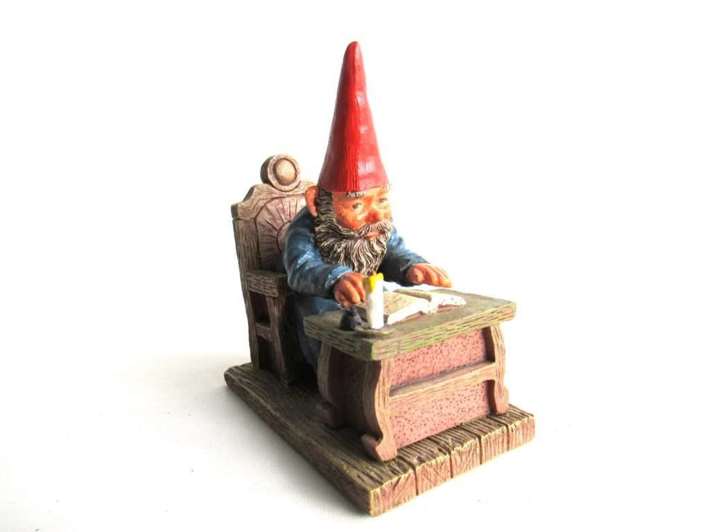 UpperDutch:Gnomes,Classic Gnomes 'Rien' Gnome figurine after a design by Rien Poortvliet