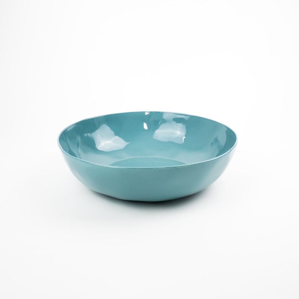Serving Bowl, Turquoise Sea