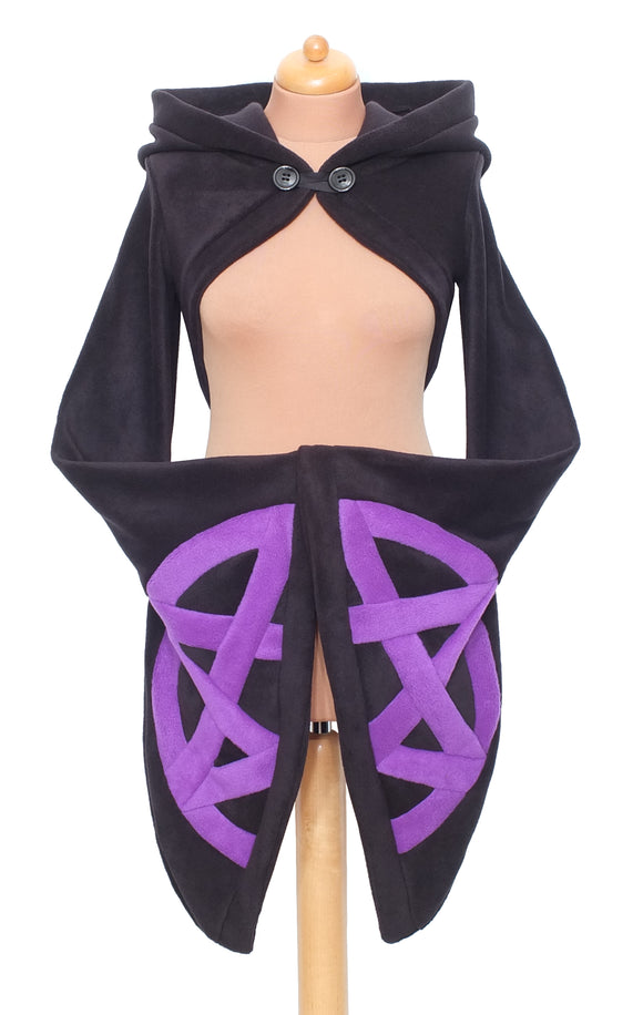 Fleece Pentacle 'Korrigan' Shrug - TPF Faerie Wear
