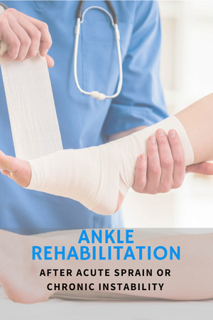 Rehabilitation of the Ankle After Acute Sprain or Chronic Instability