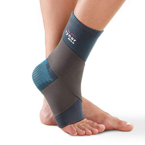 Tynor Australia Unisex Ankle Binder Protects against chronic ankle sprains, and fatigue.Perfect for post-surgery recovery, strains, arthritis injury recovery and injury prevention.
