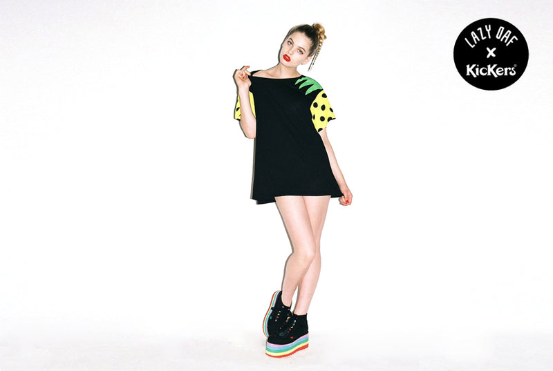 Lazy Oaf x Kickers: How Will You Wear Yours?