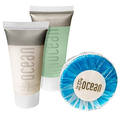 Ocean Collection BNB Amenity Travel Bath And Shower Set