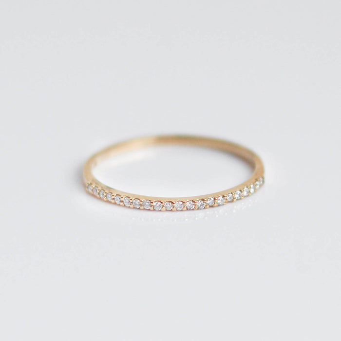 Lovers Lane Diamond Wedding Band