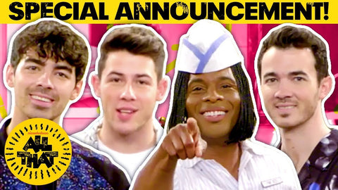 'All That' Revival Gets Premiere Date On Nickelodeon; Jonas Brothers & Original Castmembers Guest