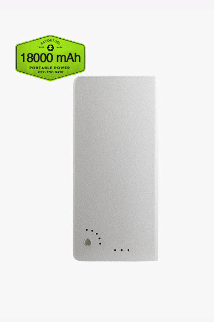 18000mAh Portable Power Bank with Power Adapter, DC Cable and 10 Adapter Tips