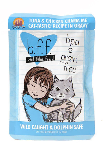 Weruva b.f.f. Best feline friend cat food -Tuna & Chicken Charm Me