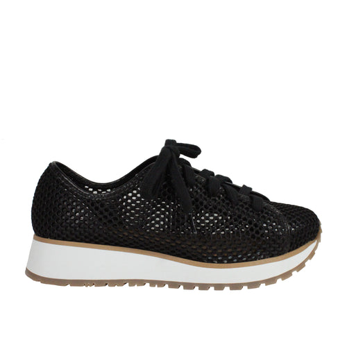 Wedge Mesh in Black womens