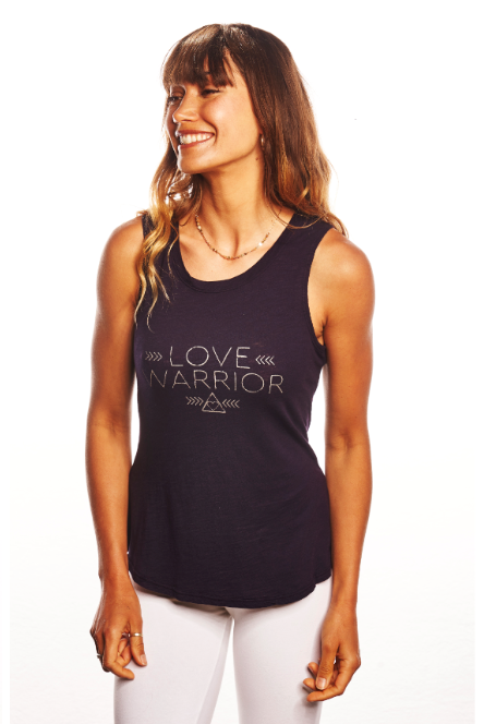 'LOVE WARRIOR' PERFECT FIT TANK