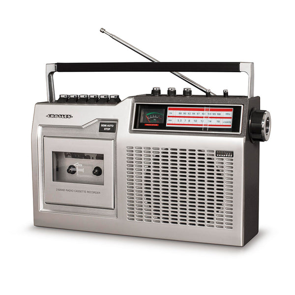 Crosley CT200 Cassette Player CDCT200A-SI