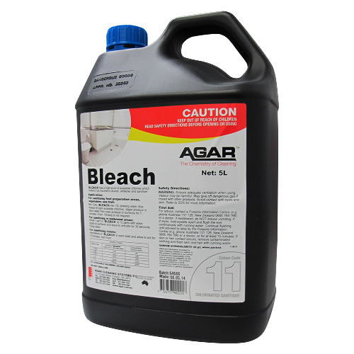 AGAR Bleach 11 (5 Ltr) - Virgara Fruit & Veg, Adelaide wide free fresh fruit & veg delivery
