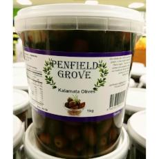 Kalamata Olives 1kg Tub - Virgara Fruit & Veg, Adelaide wide free fresh fruit & veg delivery