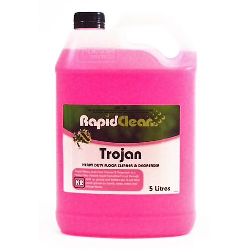Rapid Trojan Heavy Duty Floor Cleaner & Degreaser (5 Ltr) - Virgara Fruit & Veg, Adelaide wide free fresh fruit & veg delivery