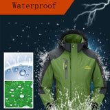 Men's Jackets Waterproof Spring Hooded Coats Men Women Outerwear Army Solid Casual Brand Male Clothing,SA153