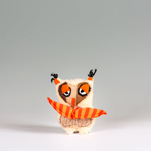"""Mister Sleepy"" the Owl - Stuffed Animal"