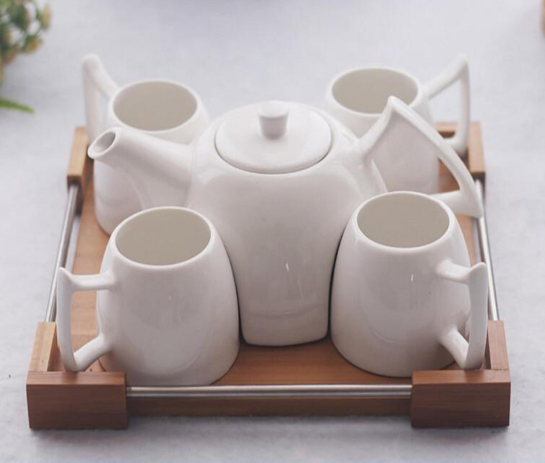 Afternoon Coffee Tray Set - NaturAmericas Market