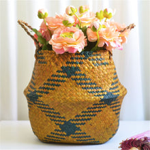Seagrass Wicker Storage Basket - NaturAmericas Market