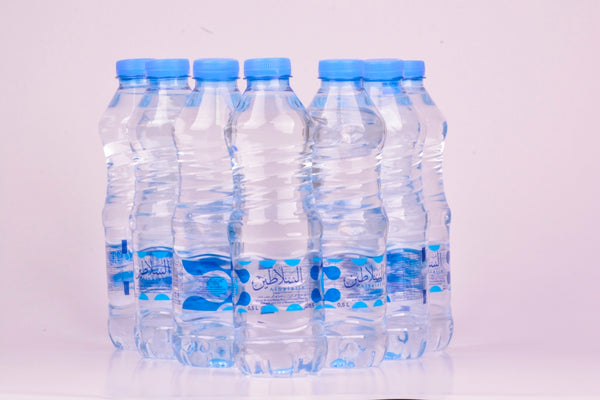Al Salatin Natural Mineral Water 500 ml (Blue) 12 pcs