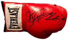 Shawn Porter Dual Signed Keith Thurman Red everlast Autographed boxing glove