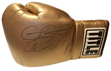 "Gennady Golovkin Autographed Huge 22"" Title Gold Boxing Glove in Black Signature"