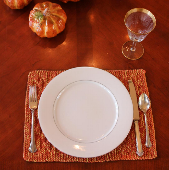 Harvest Placemat Free Pattern