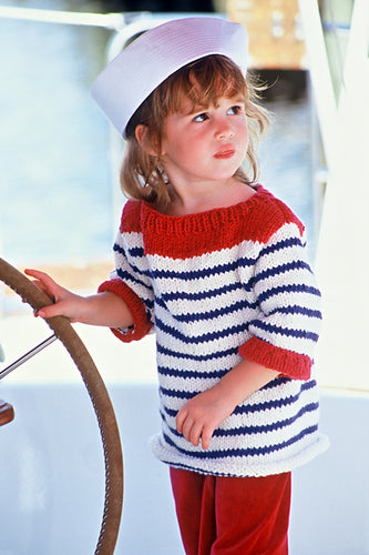 Out to Sea Mommy & Me Sweater Pattern