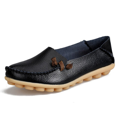 Loafer Moccasins with Side Lace