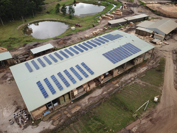 100kw System Installed at Hayters Sawmill in Werombi