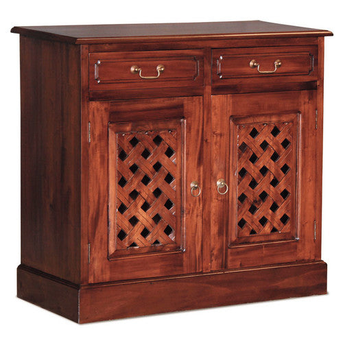 Florida Teak 2-Carved-Door-2-Drawer-Buffet-ATF388SB-202-CV