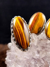 Grounding Tigers Eye Rings || Set One || Protective || Strength