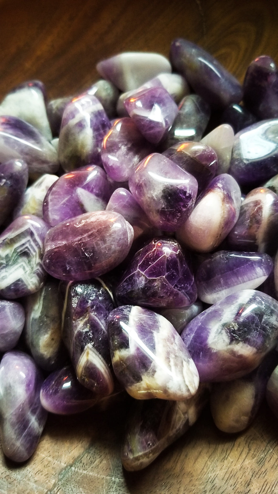 Amethyst Crystal || Crystal Tumble || Grape Purple