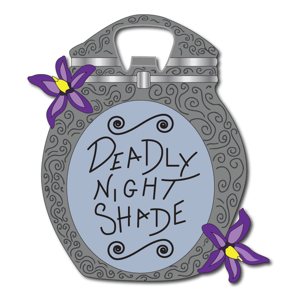 Deadly Nightshade Bottle Opener - Attractioneering Trading Co.