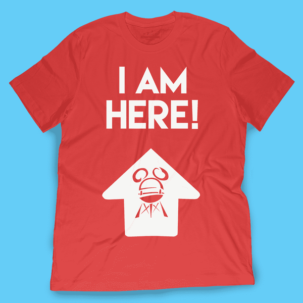 I Am Here! Hollywood Studios Shirt - TheDisneyFox - Attractioneering Trading Co.