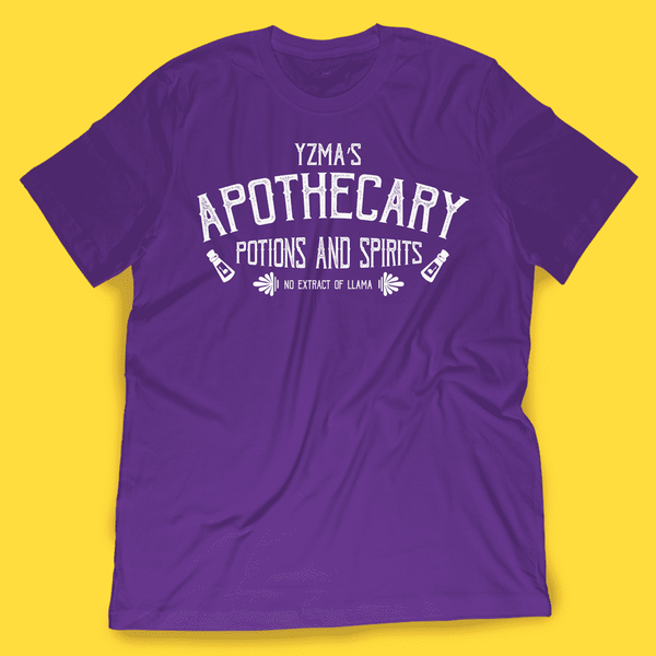 Yzma's Apothecary Shirt - Attractioneering Trading Co.
