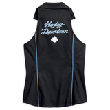 Harley-Davidson Contrast Piping Women's Sleeveless Tank