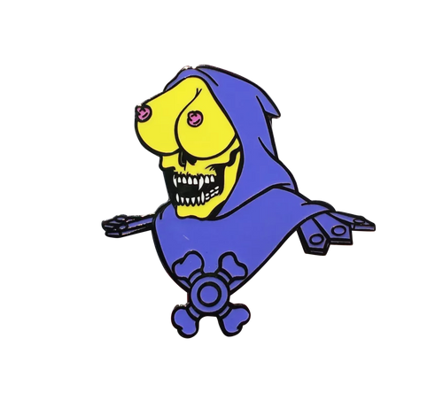 Sexy Skeletor Pin