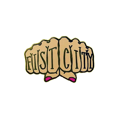 Fist City Pin