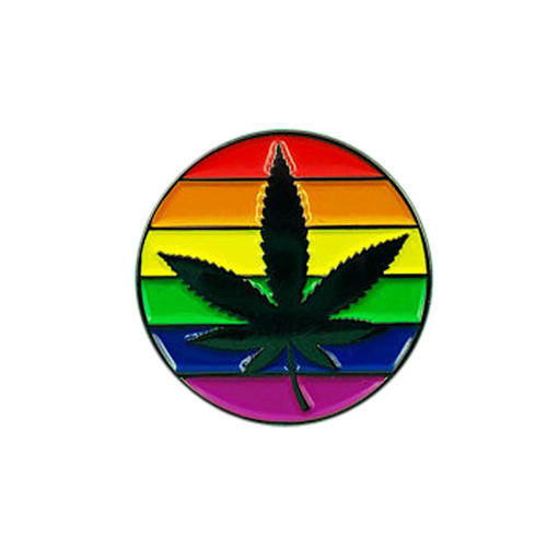 Pride Leaf Pin