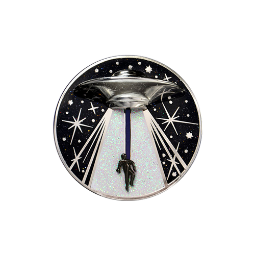 Alien Abduction Pin (It Moves!)