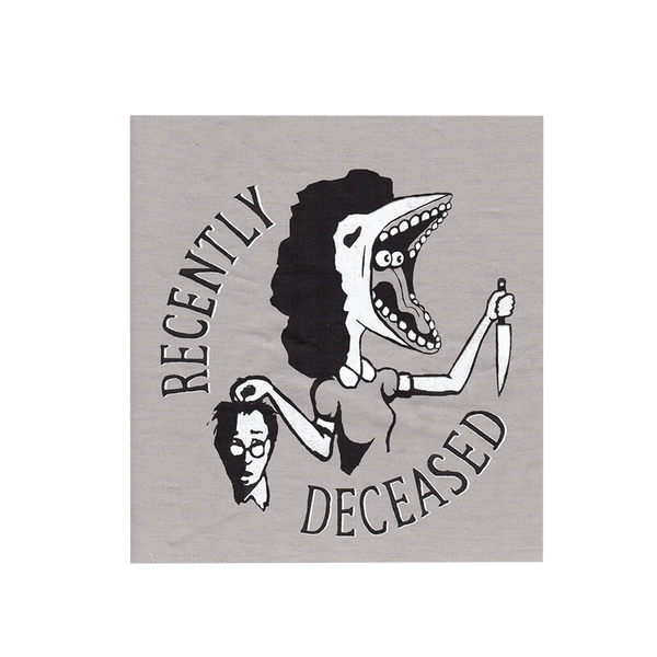 Recently Deceased Back Patch