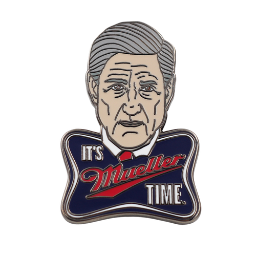 It's Mueller Time Pin