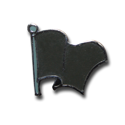 Black Flag Pin