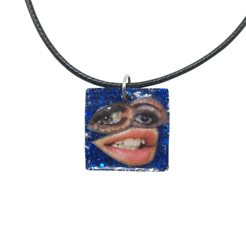 Art Collage Necklaces